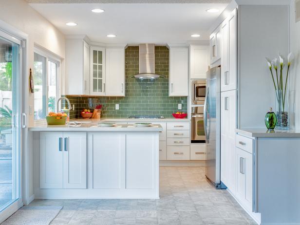 hgtv small kitchens photo - 1