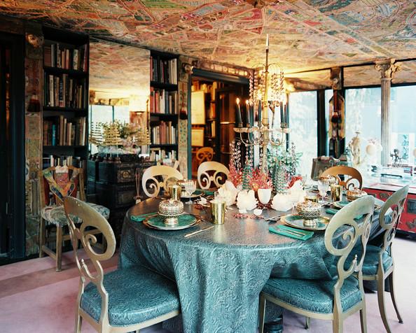 hollywood regency dining room photo - 1