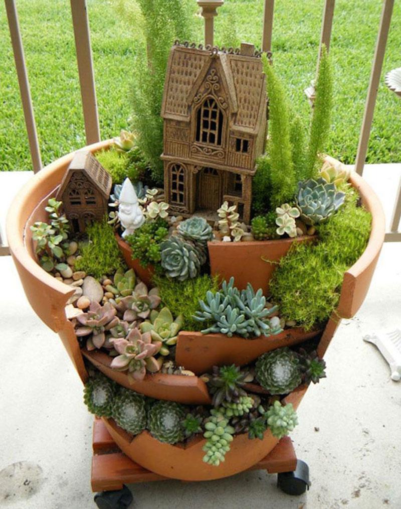 how do i make a fairy garden photo - 2