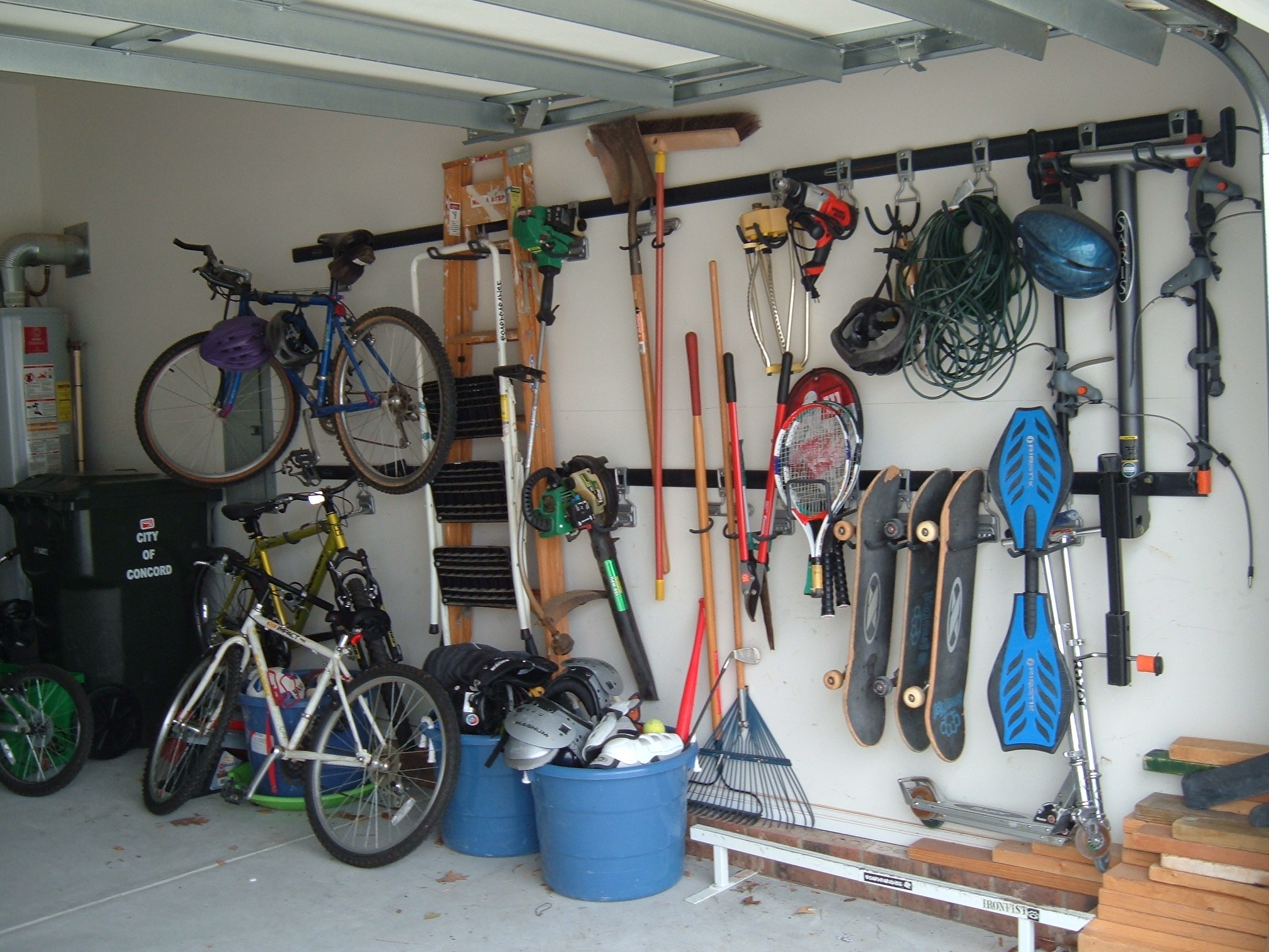 How do i organize my garage   large and beautiful photos. photo to ...