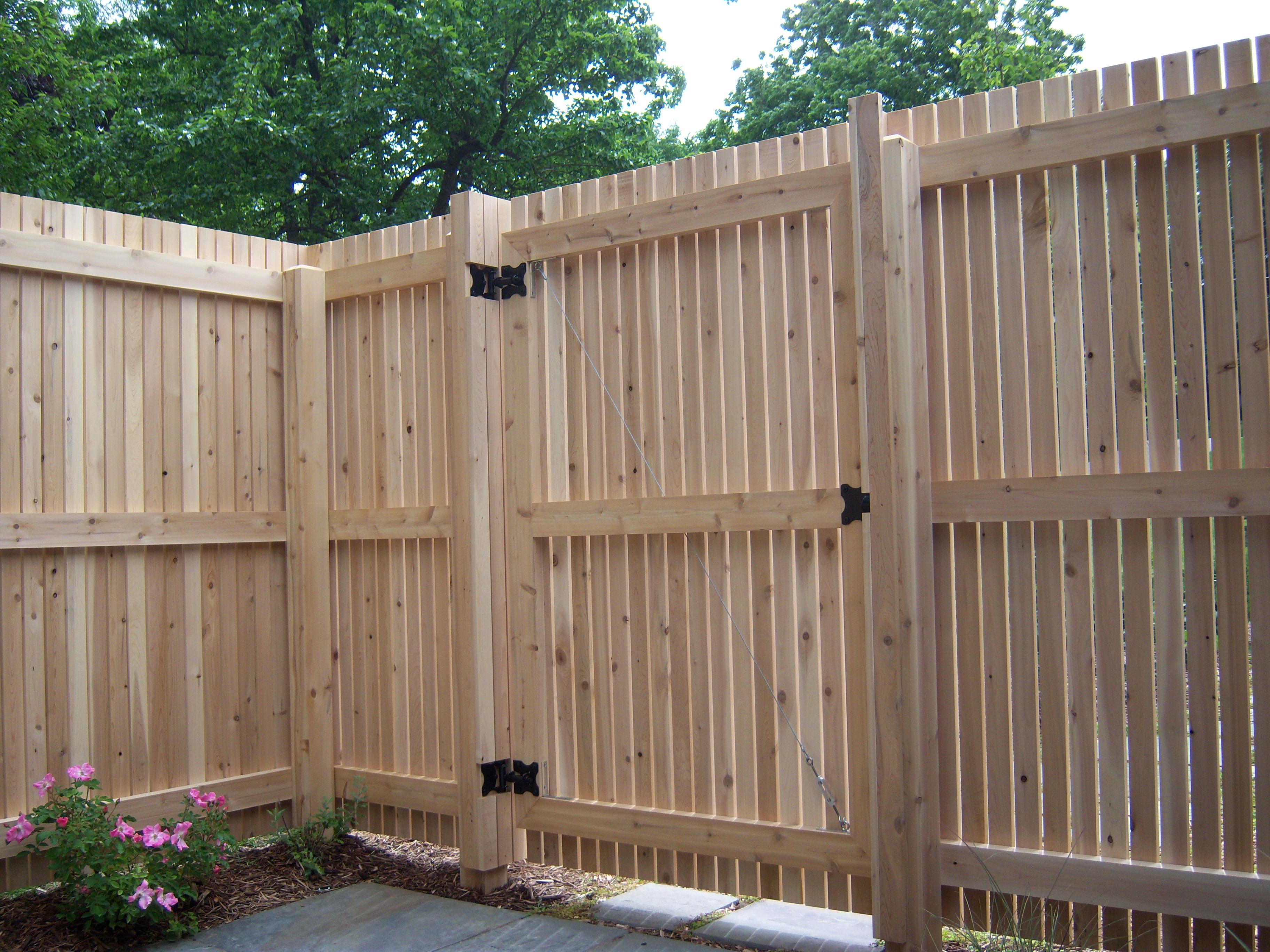 how to build a backyard fence photo - 1