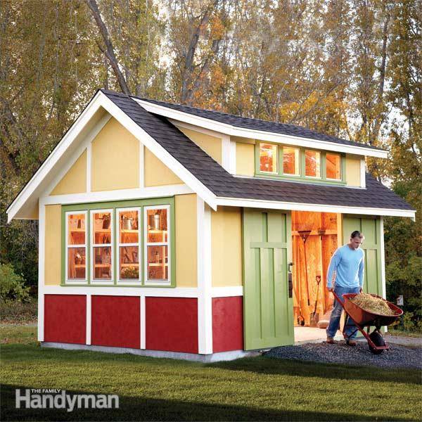 how to build a backyard shed photo - 1
