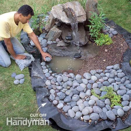 how to build a backyard water feature photo - 1