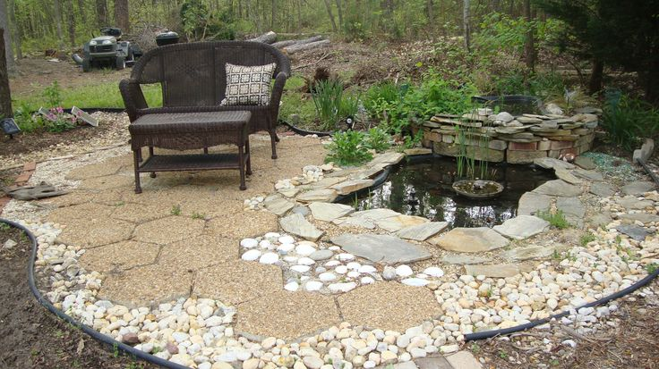 how to build a backyard water feature photo - 2