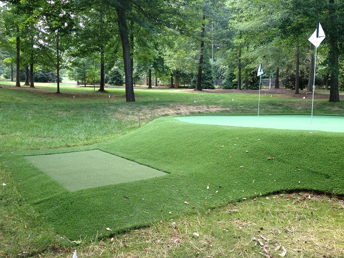 how to build a putting green in your backyard photo - 2