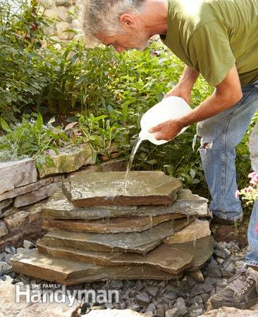 how to build backyard waterfall photo - 1