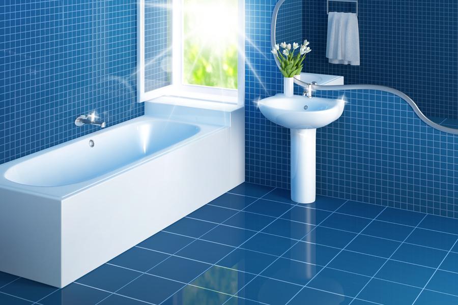 How To Clean Bathroom Floor