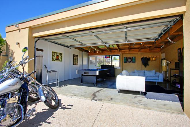 how to convert a garage into a room photo - 2