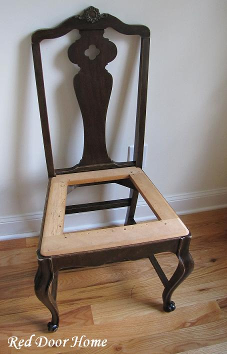 how to cover dining room chairs photo - 2