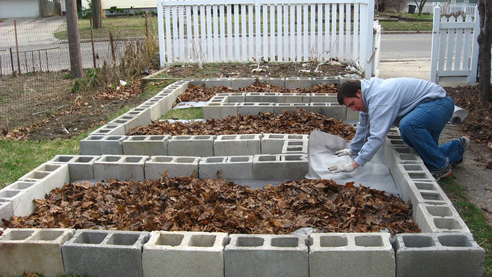 how to create raised garden beds photo - 1