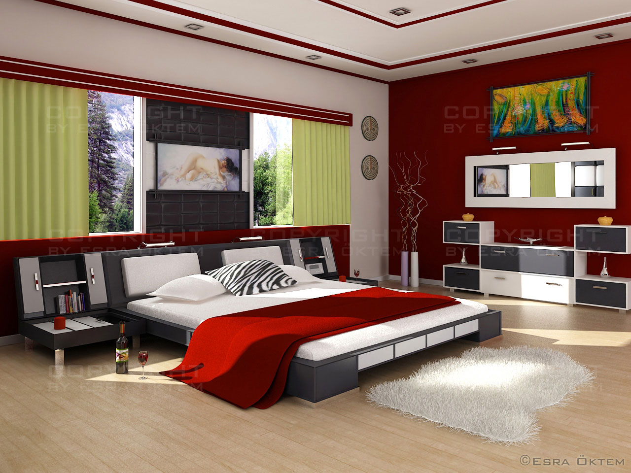how to decorate a teen bedroom photo - 1