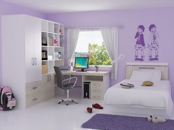 how to decorate a teenage bedroom photo - 2