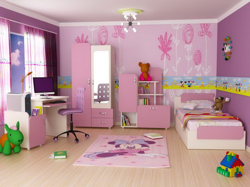 how to decorate kids bedroom photo - 1