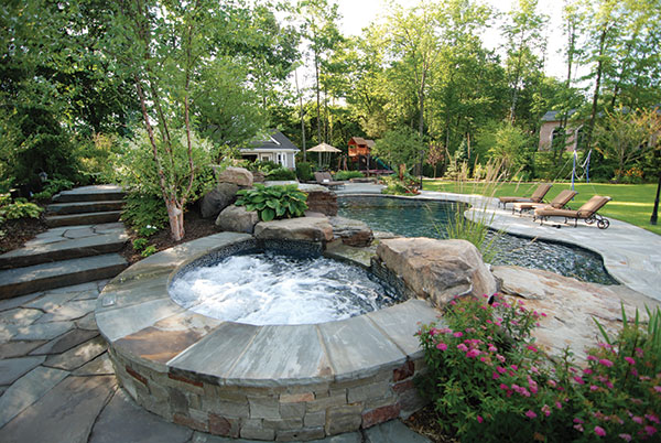how to design backyard landscape photo - 2