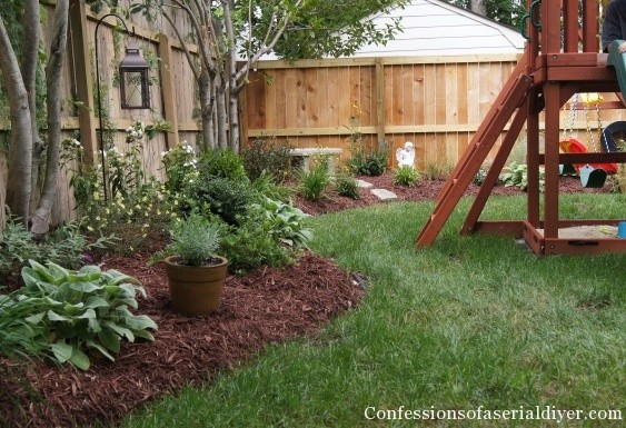 how to do backyard landscaping photo - 1