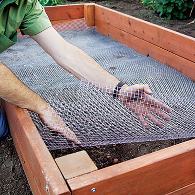 how to install a raised garden bed photo - 1