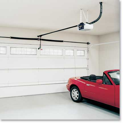 How to install automatic garage door opener large and for Selecting a garage door opener