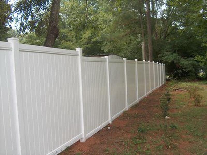 how to install garden fence photo - 1
