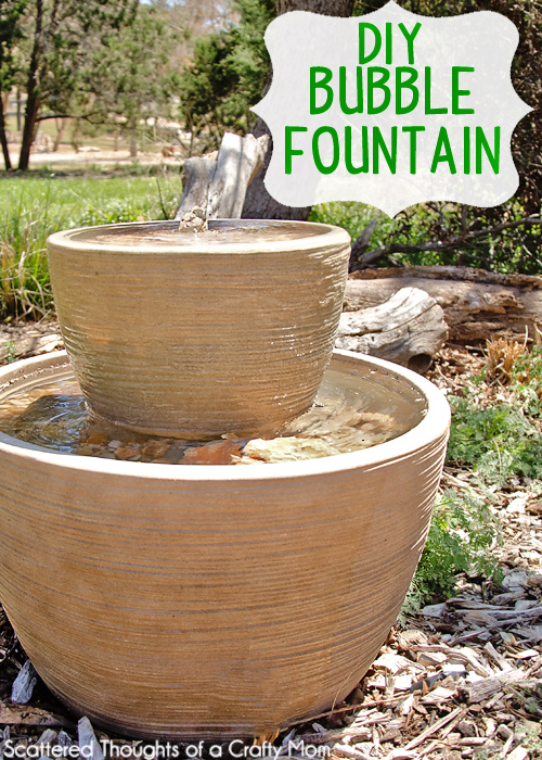 how to make a backyard fountain photo - 1