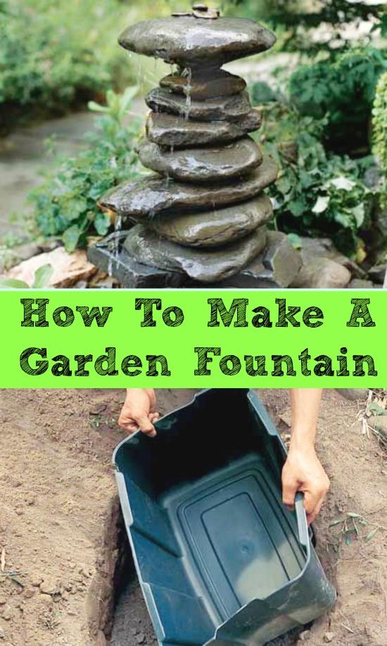 how to make a backyard fountain photo - 2