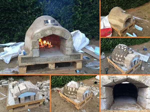 how to make a backyard pizza oven photo - 1