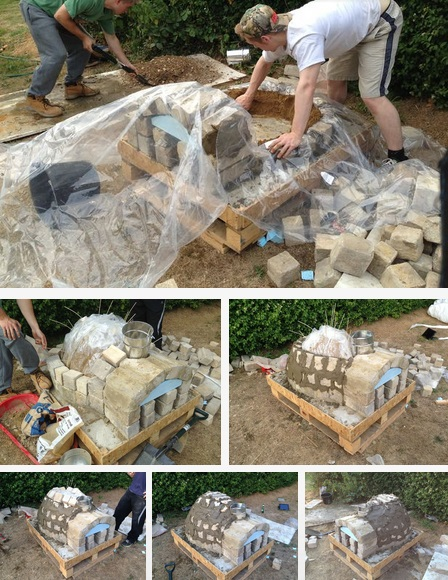 how to make a backyard pizza oven photo - 2