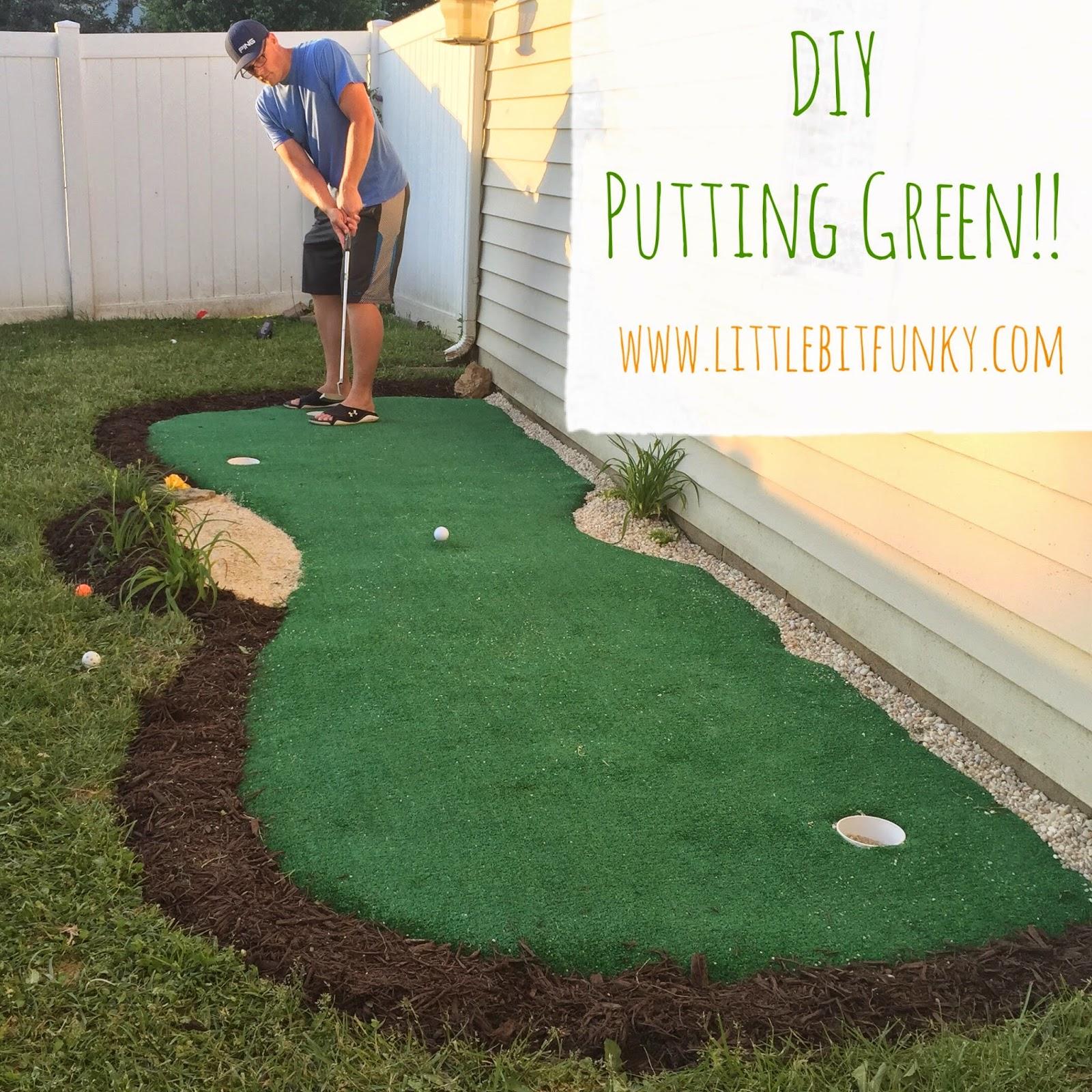 how to make a backyard putting green photo - 2