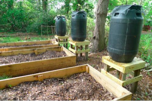 how to make a barrel garden photo - 2