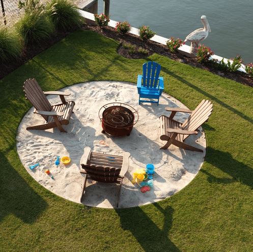 how to make a bonfire pit in your backyard photo - 1
