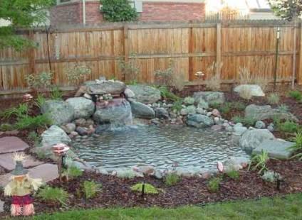 how to make a garden pond photo - 1