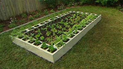 Raised garden bed ideas vegetables