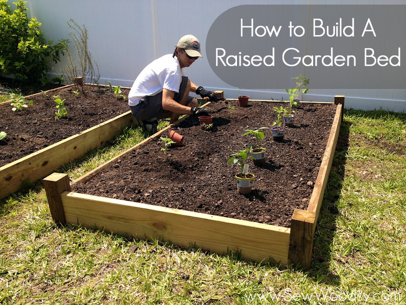 How to make a raised garden box large and beautiful photos