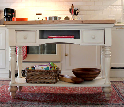 how to make a small kitchen island photo - 2
