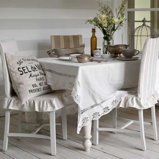 How To Make Dining Chair Covers Photo