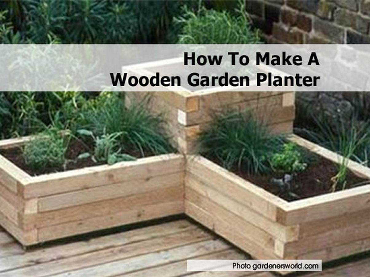 How to make garden box large and beautiful photos Photo to