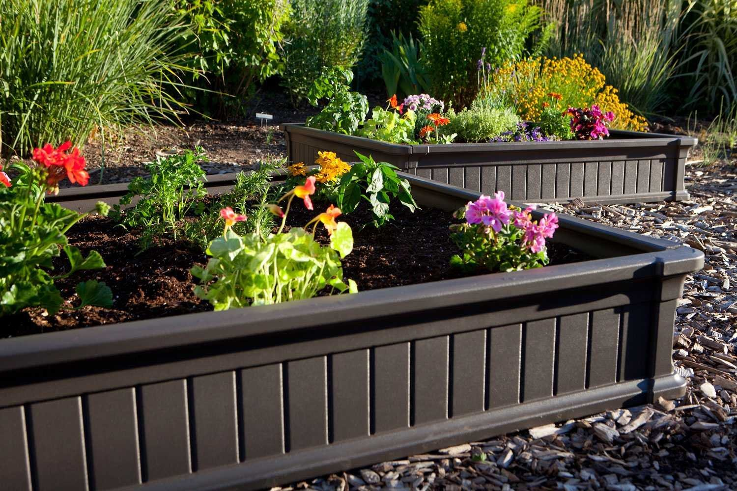 how to make garden soil for raised beds photo - 1