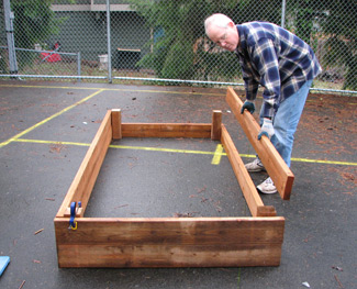 how to make garden soil for raised beds photo - 2