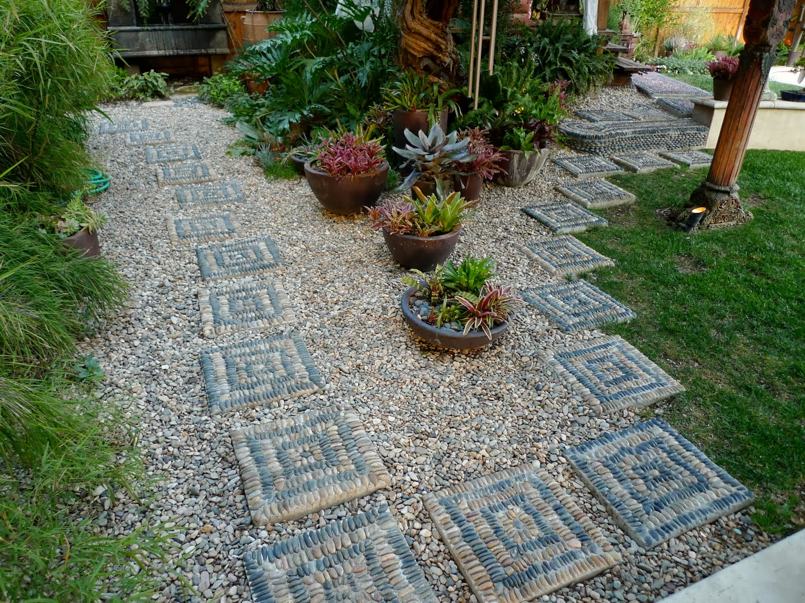 how to make garden stepping stones photo - 1