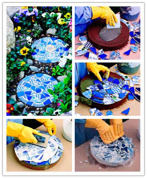 how to make garden stepping stones photo - 2