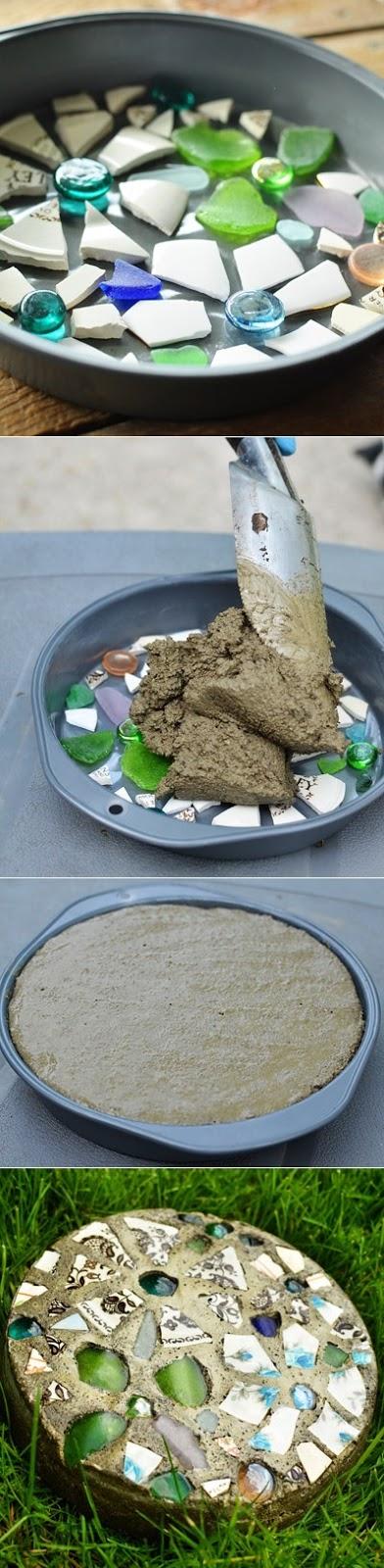 how to make garden stones photo - 1