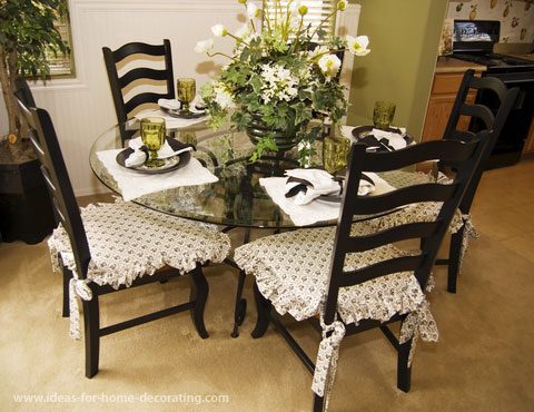 How To Make Seat Cushions For Dining Room Chairs Large And