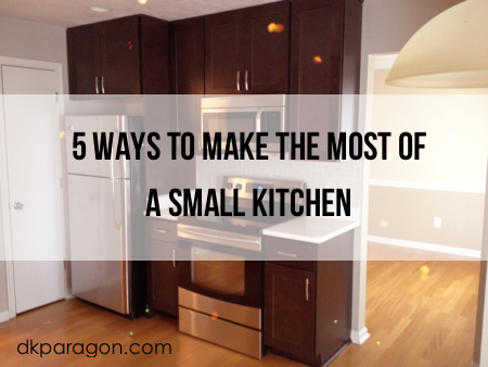 how to make the most of a small kitchen photo - 1