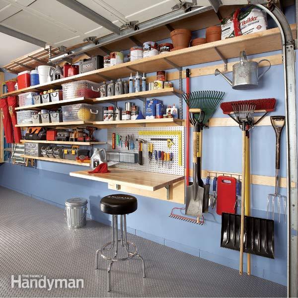 how to organize garage tools photo - 2