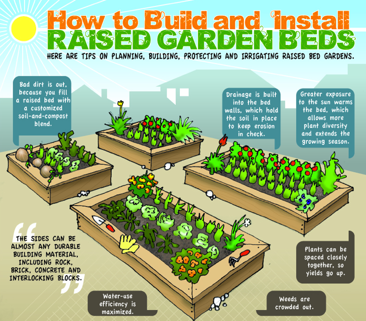 How to raised garden beds large and beautiful photos Photo to