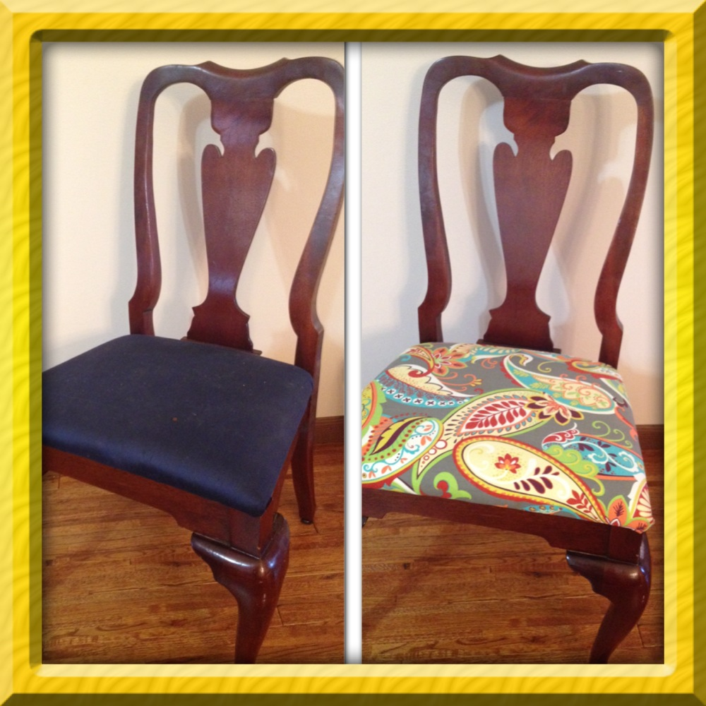 How To Recover Dining Room Chairs Photo   2