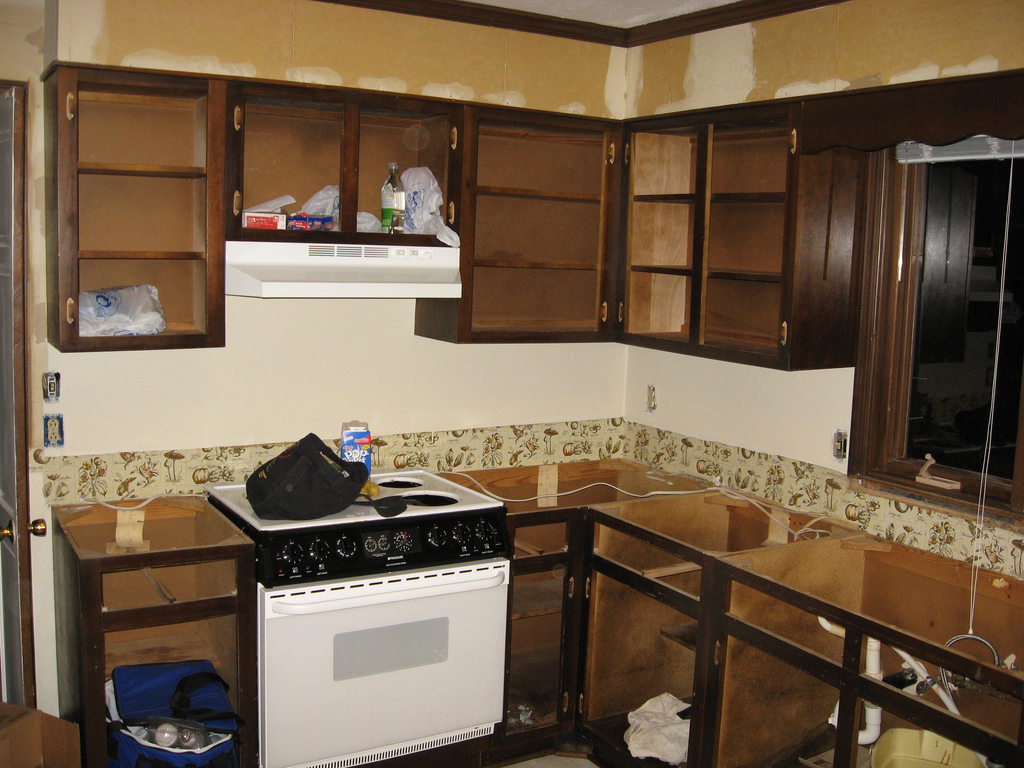 how to remodel a small kitchen photo - 2