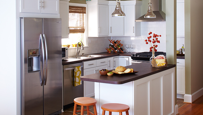 how to remodel a small kitchen on a budget photo - 2
