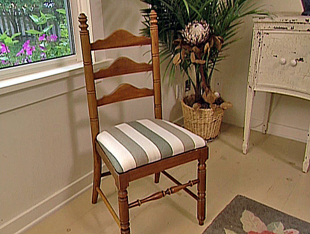 How To Reupholster A Dining Chair Seat Photo   2