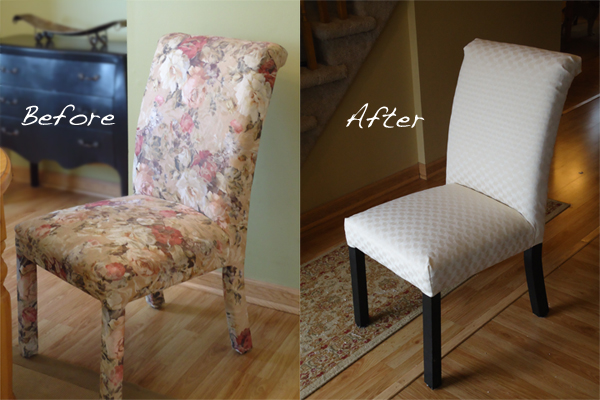 How To Reupholster Dining Chairs Large And Beautiful Photos - Reupholster dining chair