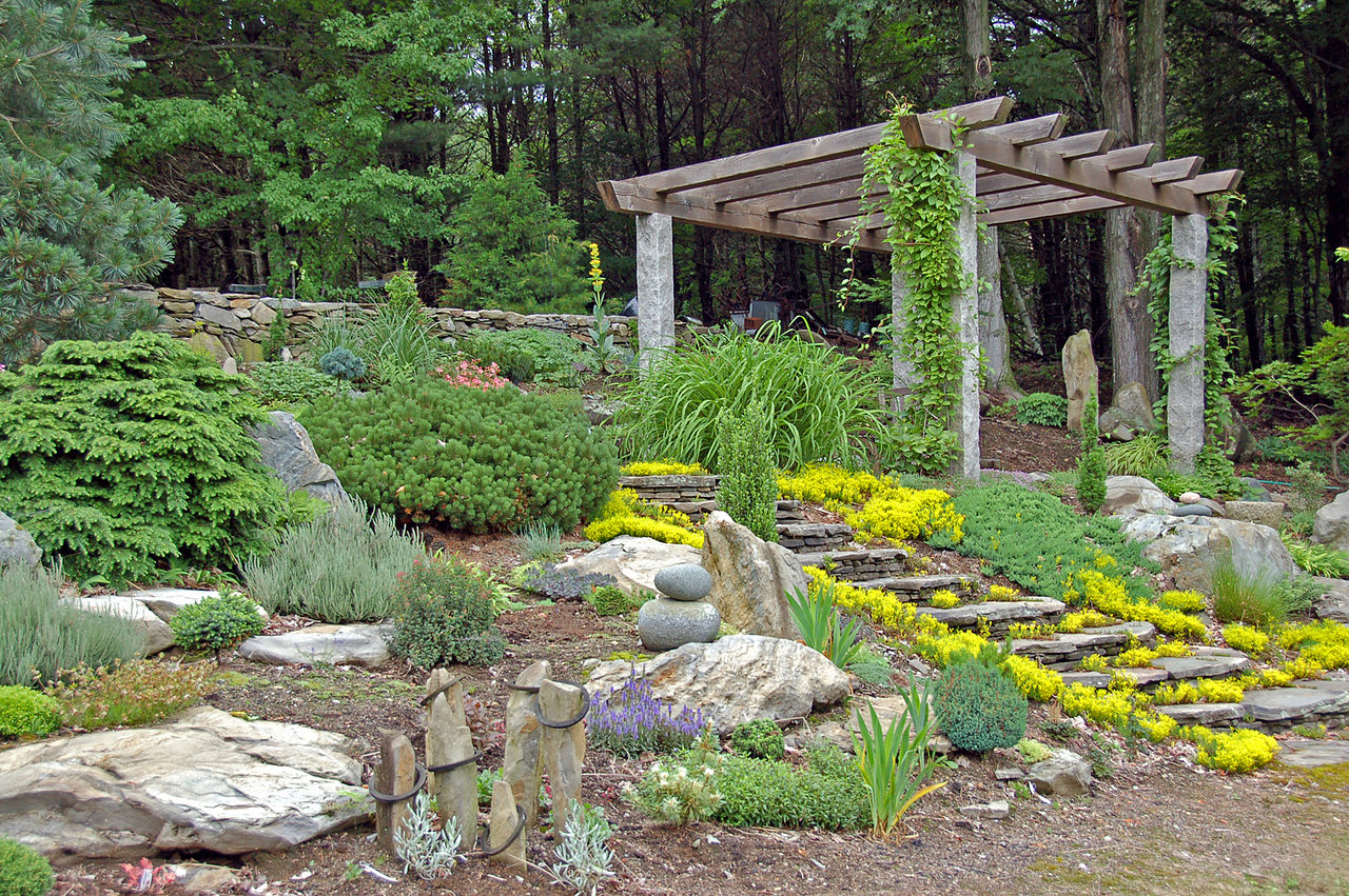 How To Make A Rock Garden. How To Start A Rock Garden Make
